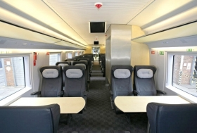 Business class (1° classe) sul treno Sapsan - Incoming Russia tour operator